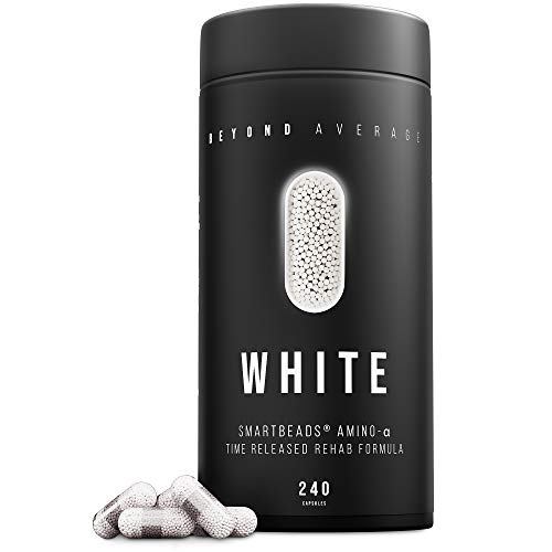 Beyond Average WHITE, BCAA Time-Released 24h...