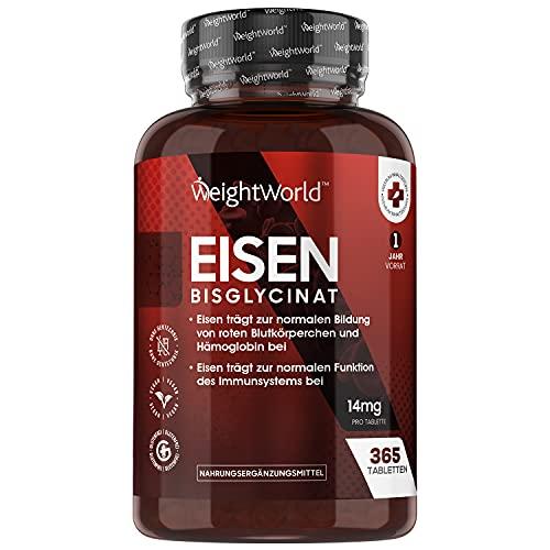 Eisen Tabletten - 365 vegane Eisentabletten für 1...
