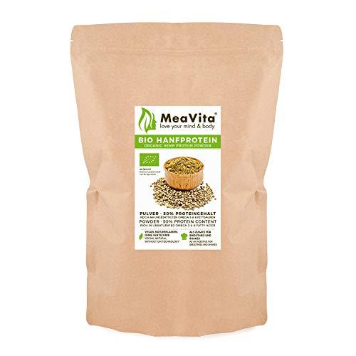 MeaVita Bio Hanfprotein Pulver, hoher...
