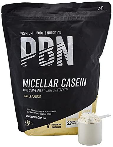 Premium Body Nutrition Micellar Casein Vanilla 1kg...