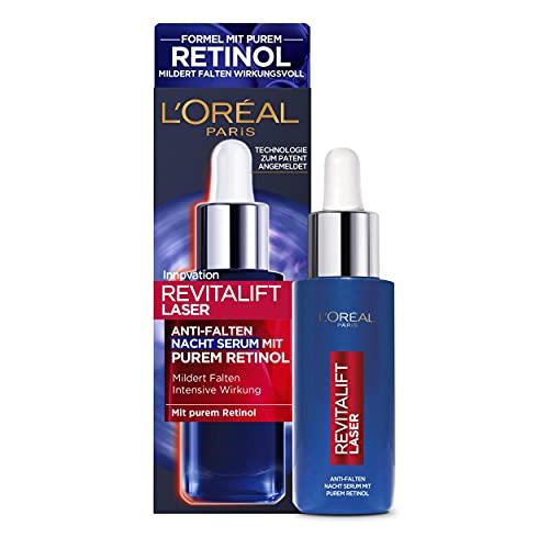 L'Oréal Paris Retinol Serum, Anti-Falten...