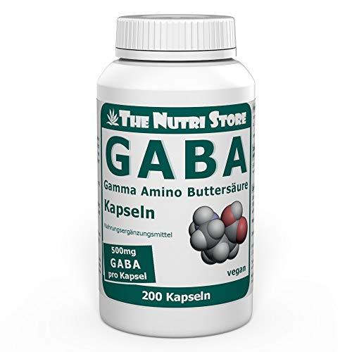 GABA 500 mg vegan Kapseln 200 Stk Kapseln - Gamma...