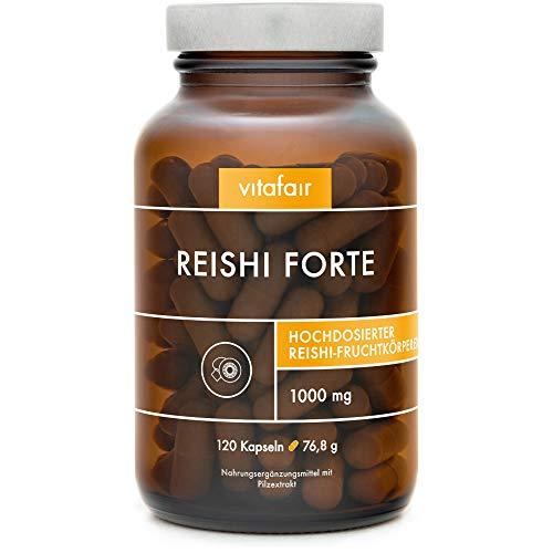 VITAFAIR 100% Vegane Reishi Kapseln mit 1000 mg...