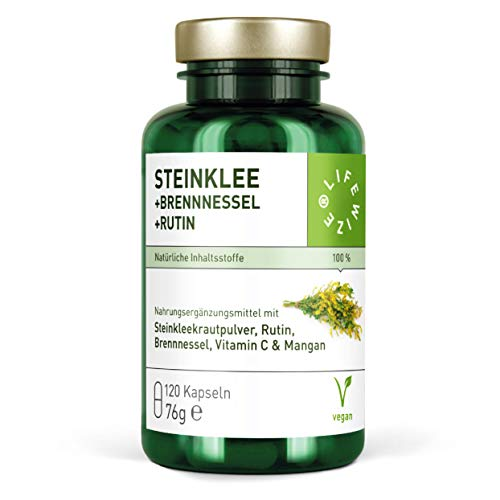 LifeWize® Steinklee Komplex - 500 mg Steinklee &...