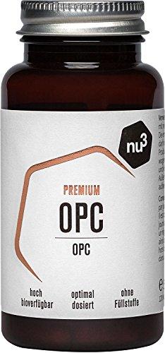 nu3 Premium OPC - 120 Kapseln - OPC & Camu Camu -...