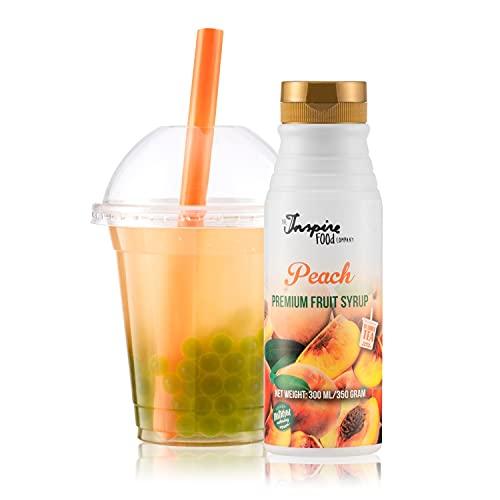 Fruchtsirup für Bubble Tea - 300ml - Pfirsich -...