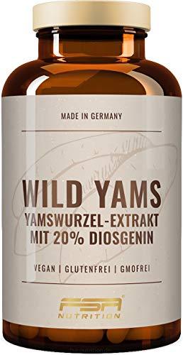 Yamswurzel Extrakt (Wild Yams) 180 Kapseln, 1000...