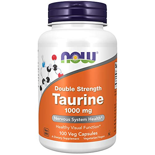 Now Foods double strength Taurine 1000mg Standard,...