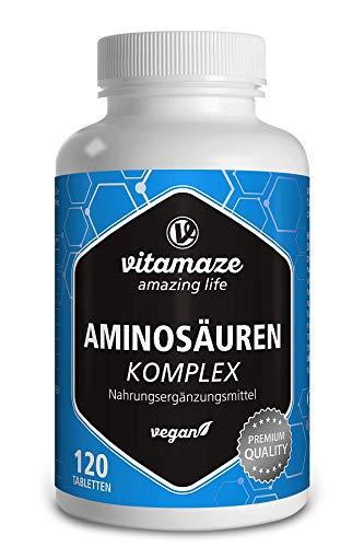 Aminosäuren Komplex hochdosiert & vegan, 120...