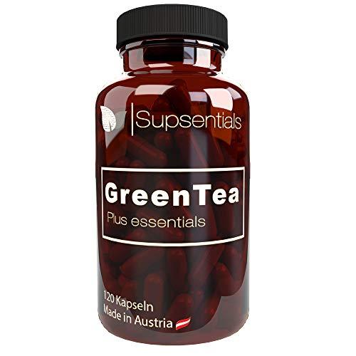 Grüner Tee Extrakt - 120 Kapseln - 800mg -...