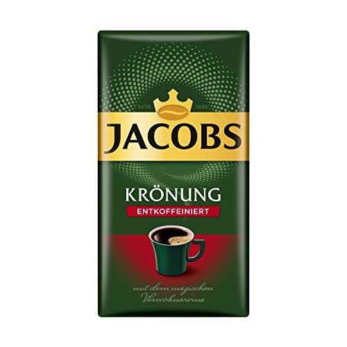 Jacobs Filterkaffee Krönung Entkoffeiniert, 500 g...