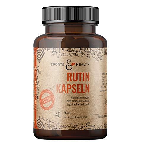 Rutin Kapseln - 140 Kapseln Rutin Hochdosiert –...
