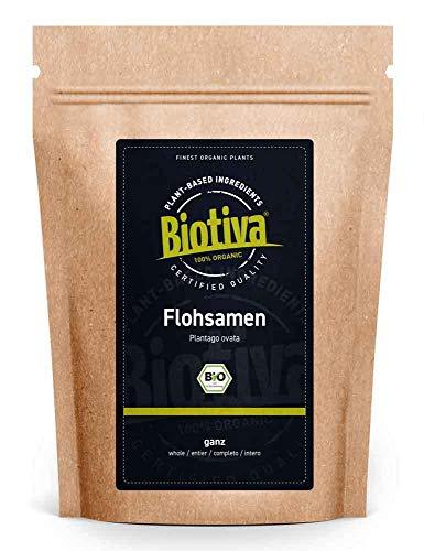 Flohsamen Bio 1kg, ganz - 1000g - 99% Reinheit -...