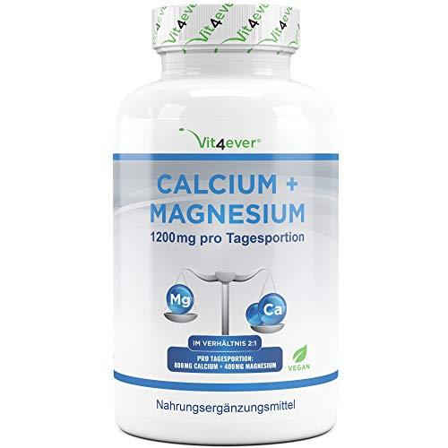 Calcium 800 mg + Magnesium 400 mg (2 Tabletten) -...