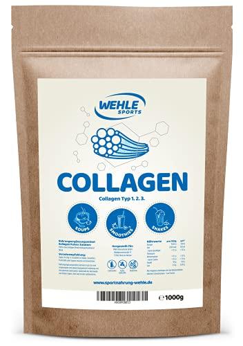Collagen Pulver 1kg - Kollagen Hydrolysat Peptide...
