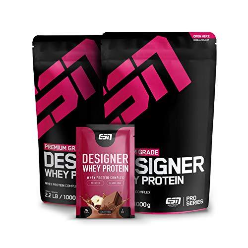 ESN Designer Whey Protein, 2 x 1000 g Chocolate +...