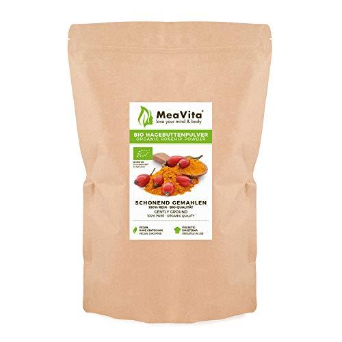 MeaVita Bio Hagebuttenpulver, Hagebutten schonend...