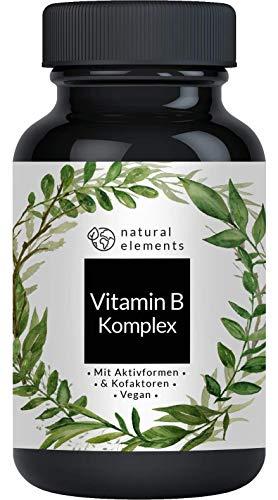 Vitamin B Komplex mit B12-180 Tabletten - Premium:...