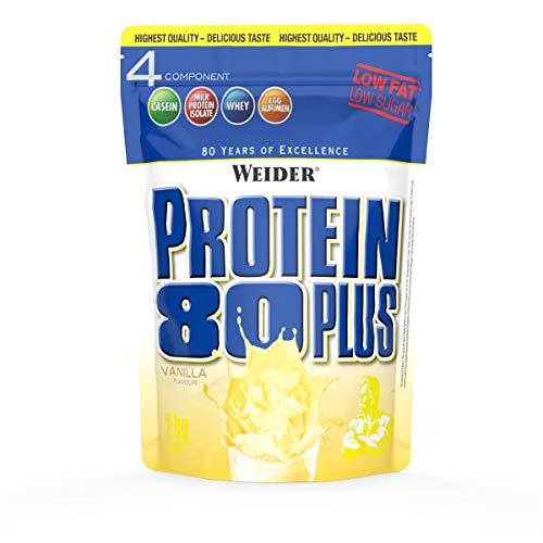 Weider Protein 80 Plus Eiweißpulver, Vanille,...