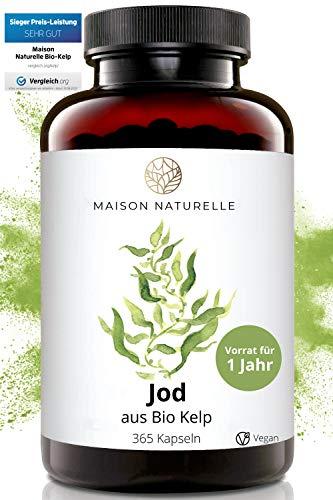 MAISON NATURELLE® Bio Kelp (Natürliches Jod) -...