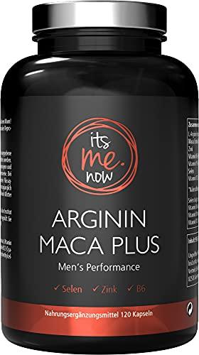 itsme.now® L Arginin Maca Plus - 120 vegane Maca...