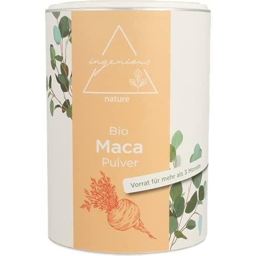 ingenious nature® Laborgeprüftes Bio Maca Pulver...