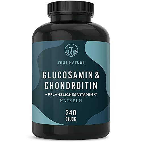 Glucosamin & Chondroitin Hochdosiert - 240 Kapseln...