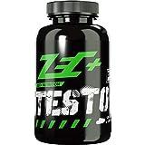 ZEC+ Testo+ Kapseln - 120 Stück, Booster Kapseln mit D-Asparaginsäure und N-Methylglycine, enthält Zink, beliebt im Bodybuilding & bei Männern, MADE IN GERMANY
