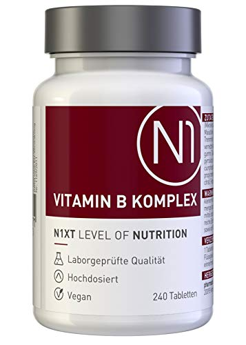 N1 VITAMIN B KOMPLEX hochdosiert mit Vitamin B 12...