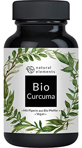 Bio Curcuma - 240 Kapseln - 4542mg (Bio Kurkuma +...