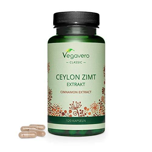 Ceylon ZIMT Kapseln Vegavero ® | HOCHDOSIERT:...