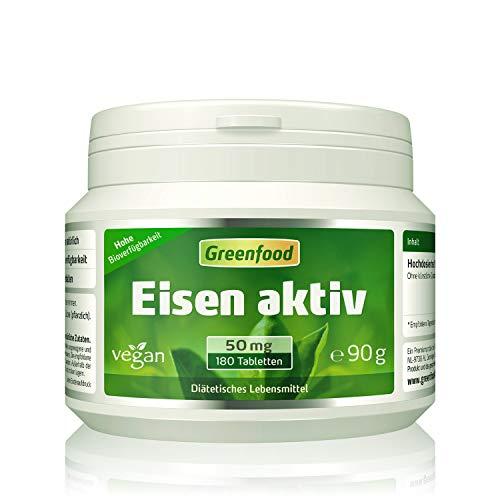 Eisen aktiv, 50 mg, extra hochdosiert, 180...