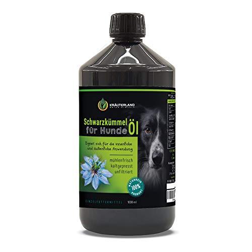 Kräuterland - Schwarzkümmelöl für Hunde 1000ml...