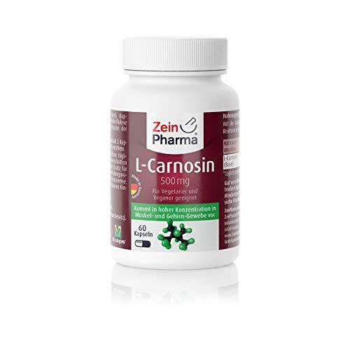 ZeinPharma L-Carnosin 500 mg 60 Kapseln...