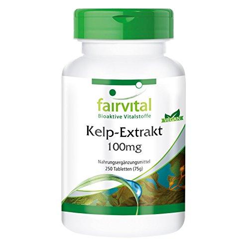 Kelp Tabletten - 150mcg natürliches Jod aus...