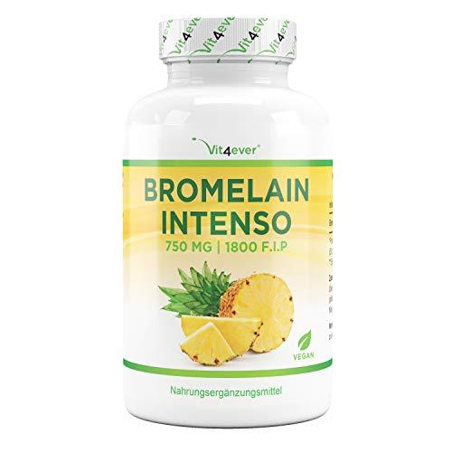 Bromelain Intenso - 750 mg (1800 F.I.P) - 120...