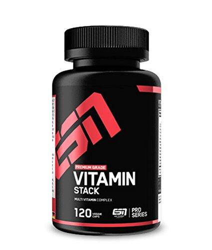 ESN Vitamin Stack, 120 Kapseln, Multivitamin
