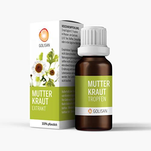 GOLISAN Premium Mutterkraut Extrakt Tropfen -...