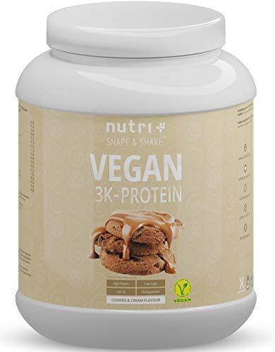 EIWEIßPULVER VEGAN Cookies & Cream 1kg - 81,9%...