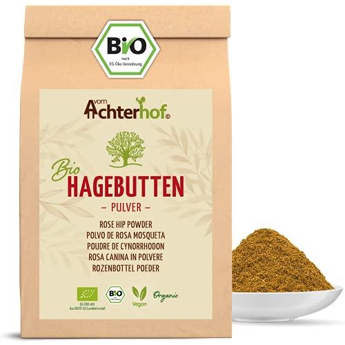 Bio Hagebuttenpulver (1kg) | ganze Hagebutte...