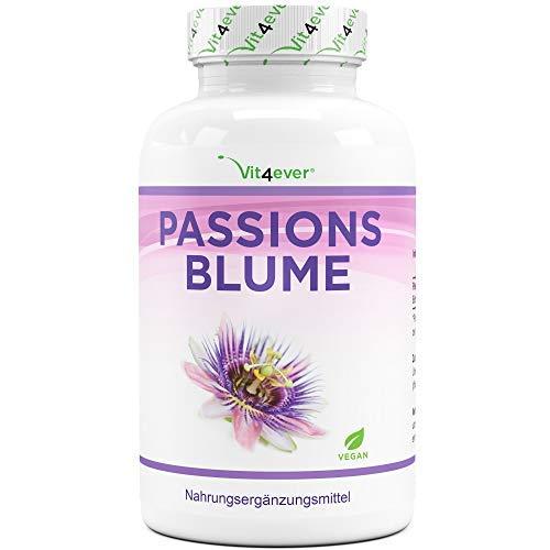 Passionsblume Extrakt - 240 Kapseln - Premium:...