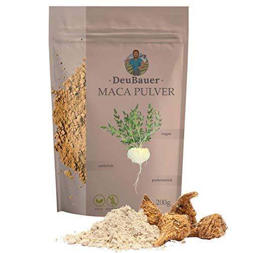 DeuBauer ® Maca Pulver [200g] roh aus der...