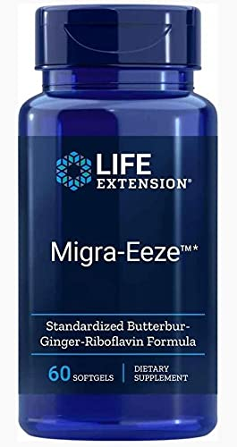Life Extension, Migra-Eeze, mit Riboflavin und...