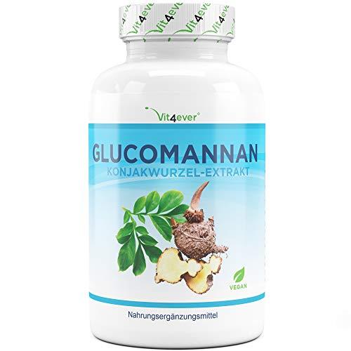 Abnehmen mit Glucomannan aus der Konjak Wurzel -...