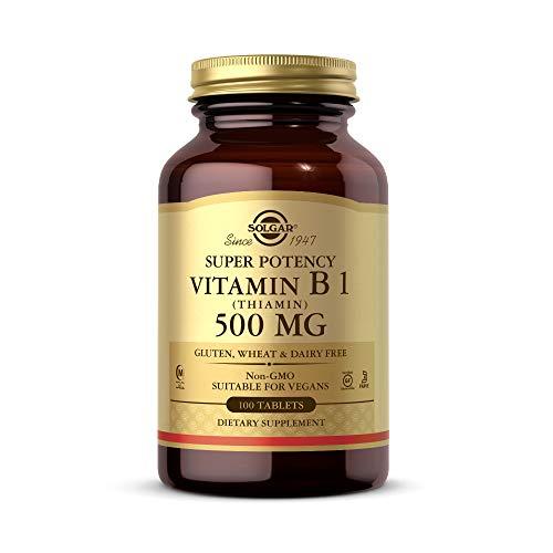 Solgar, Vitamin B1 (Thiamin), 500mg, 100...