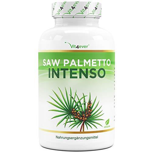 Saw Palmetto Extrakt - 180 Kapseln mit 500 mg...