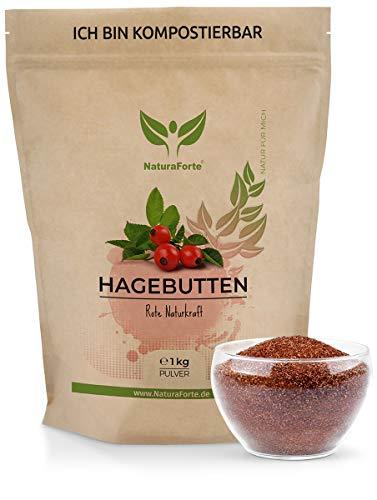 NaturaForte Hagebuttenpulver 1kg -...