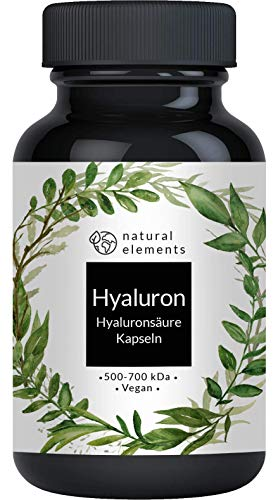 Hyaluronsäure Kapseln - Hochdosiert mit 500mg -...
