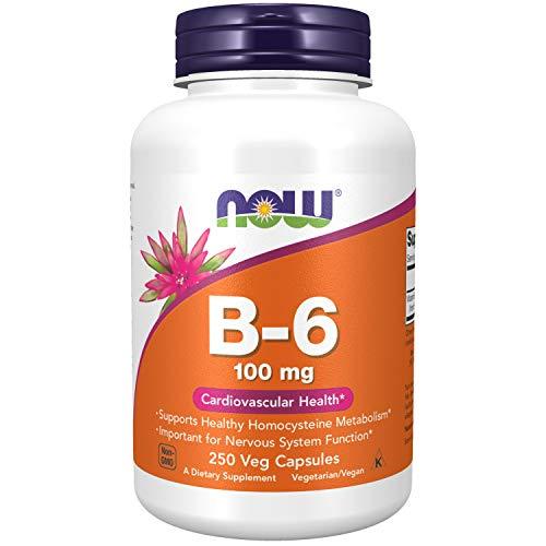 Now Foods | Vitamin B6 | 100 mg | 250 Kapseln |...