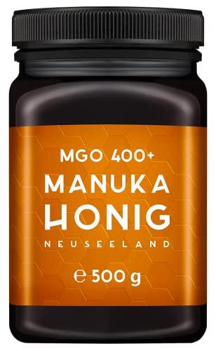 MELPURA Manuka-Honig MGO 400+ 500g aus Neuseeland...